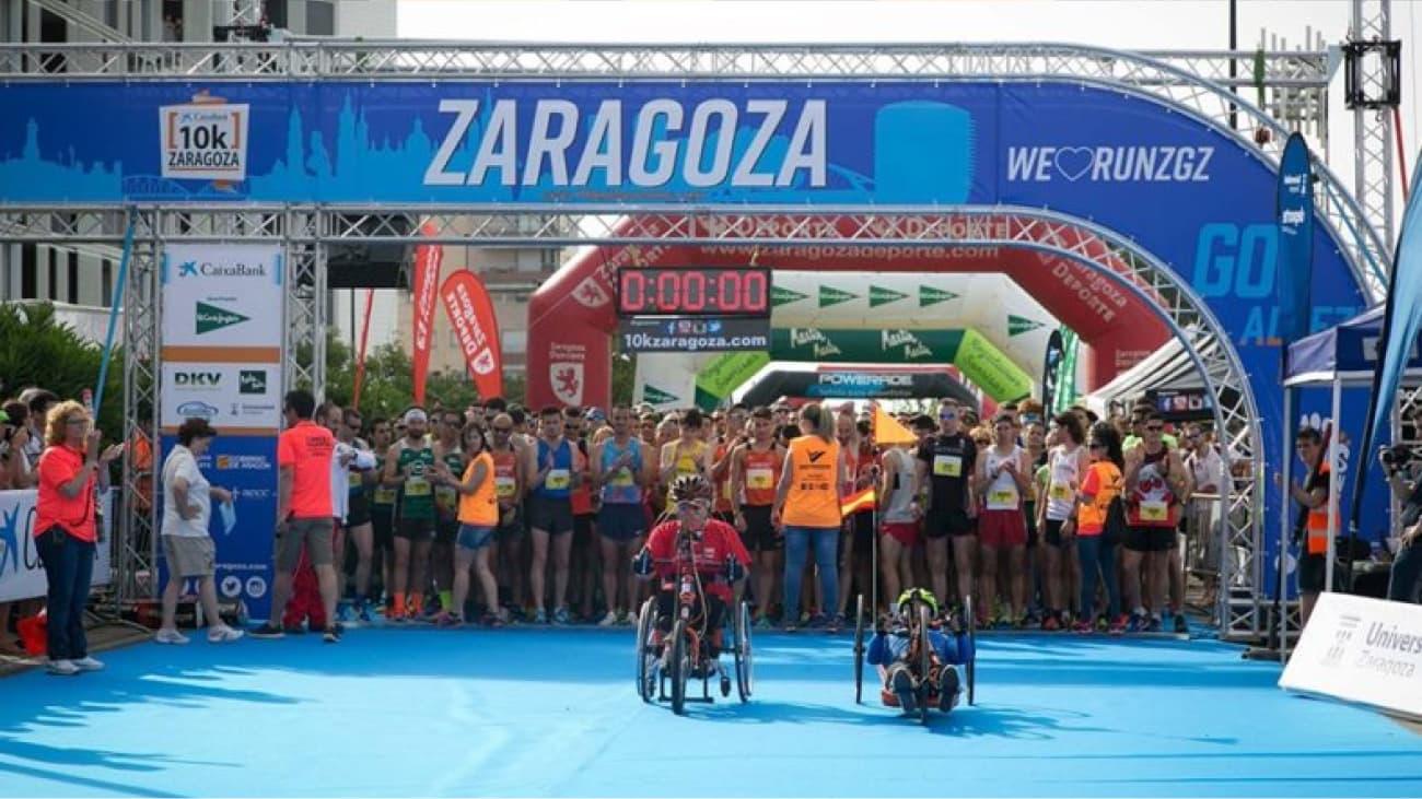 Diseño del arco para 10k Club Zaragoza