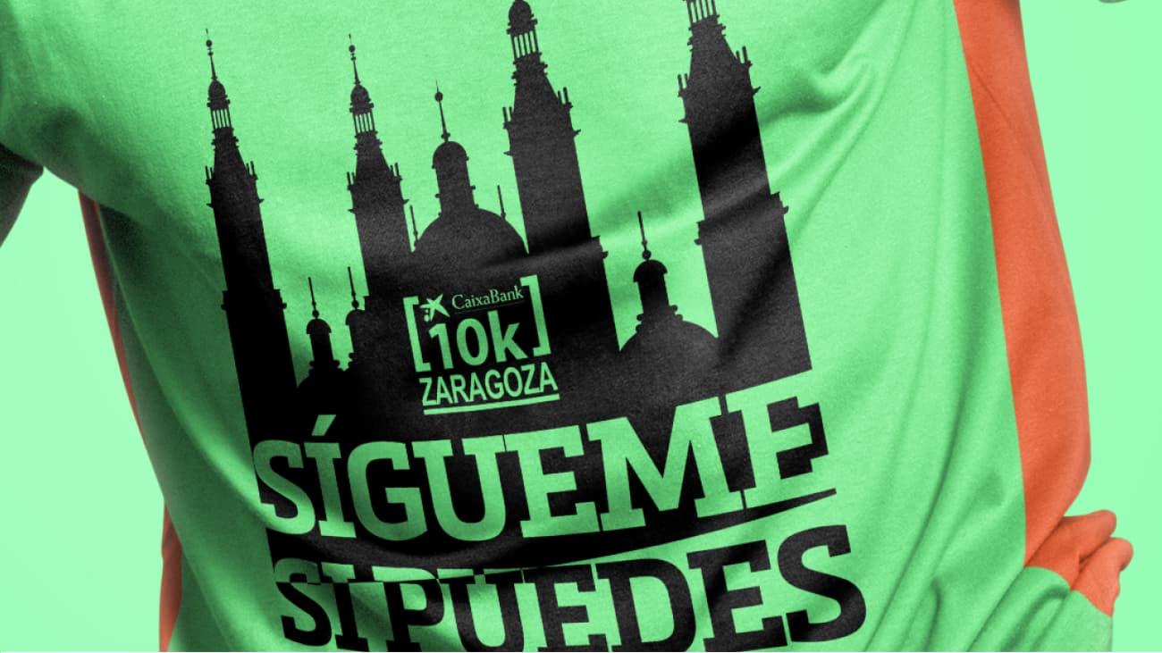 Camiseta 10k Club Zaragoza 2016