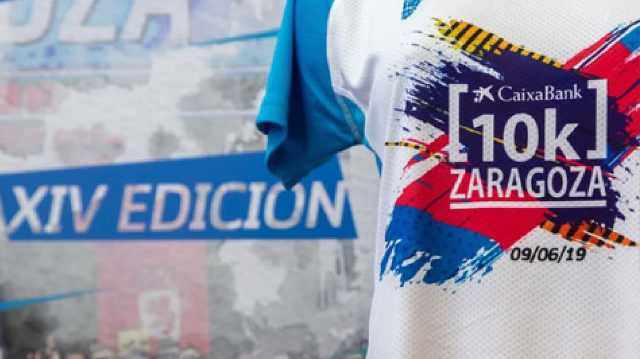 Diseño Camisetas 10k Zaragoza Conmemorativas