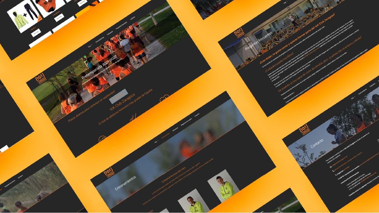 No podemos olvidarnos de la importancia del diseño web responsive. Esta página web ha sido configurada para móviles, tablets y ordenadores, gracias a su diseño limpio y adaptable. Hemos utilizado sus colores corporativos y una tipografía adecuada.