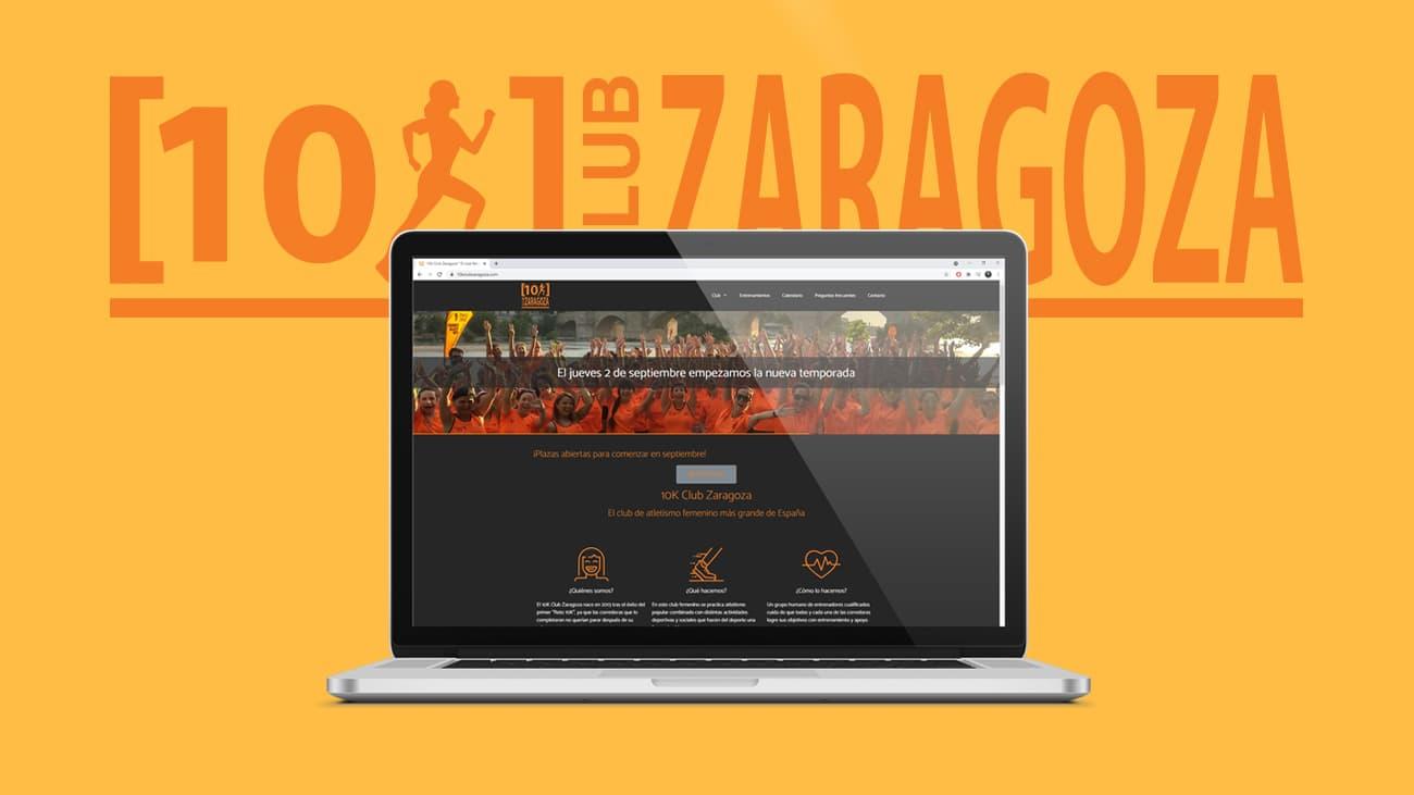 Website del 10k Club Zaragoza