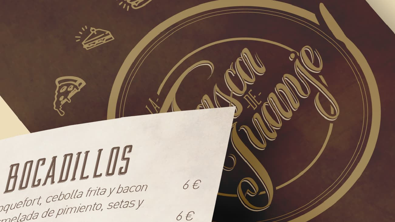 Servicios de Diseño Gráfico - Cartas y menús