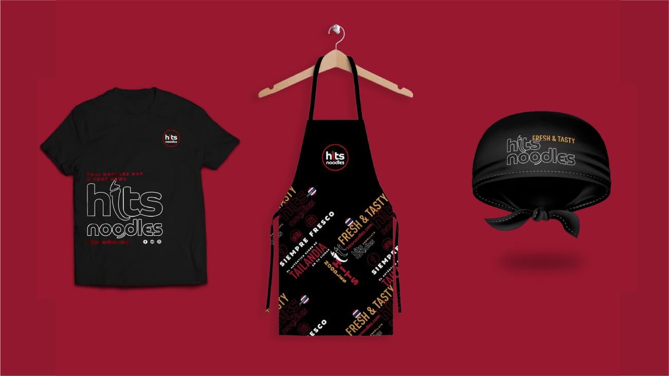 Servicios de branding - Diseño de ropa